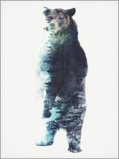 Gallery print  Bear in the Woods - Barrett Biggers