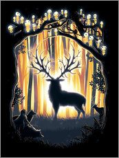 Gallery print  The God of the forest - Barrett Biggers