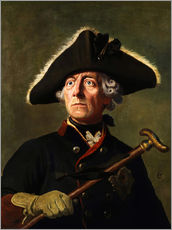 Wall sticker Frederick the Great
