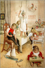 Gallery print  On the morning of Christmas Day - Carl Larsson