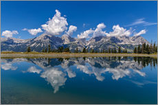 Wall sticker  Mountain Range Wilder Kaiser - Achim Thomae