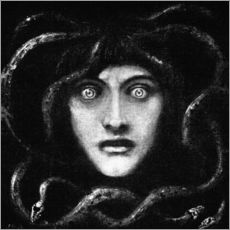 Wall sticker  Medusa 2 - Franz von Stuck