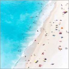 Gallery print  Summer on the beach, Greece - Matteo Colombo