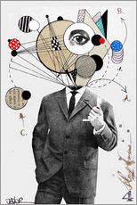 Gallery Print  the thinking man - Loui Jover