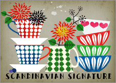 Wall Stickers  Scandinavian Signature - Elisandra Sevenstar