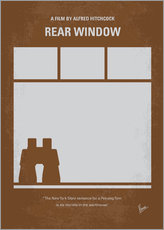 Gallery print  No238 My Rear window minimal movie poster - chungkong