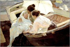 Gallery print  After the bath in the sea - Joaquin Sorolla y Bastida