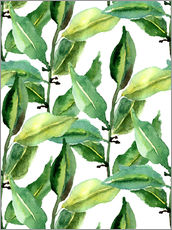 Wall Stickers  Leaves pattern