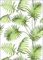Wall sticker  Tropical forest