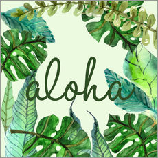 Wall sticker  Aloha