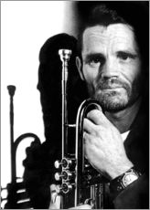 Wall sticker  Chet Baker
