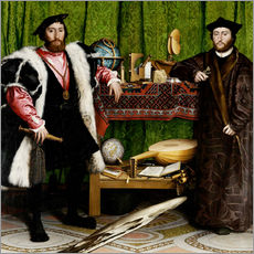 Wall Sticker  The Messenger - Hans Holbein d.J.