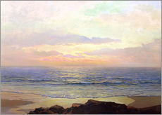 Wall sticker  Sunset over the sea. - Frederick Judd Waugh