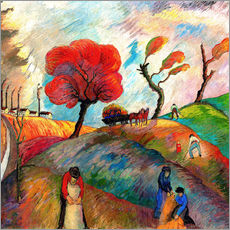 Wall sticker  anthill - Marianne von Werefkin