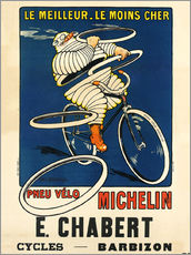 Wall sticker  Bicycle tires Michelin - H.L. Roowy