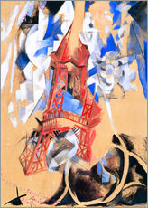 Gallery print  Eiffel tower - Robert Delaunay