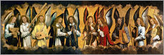 Wall sticker  Musician Angels - Hans Memling