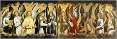Wall Sticker  Christ with angels - Hans Memling