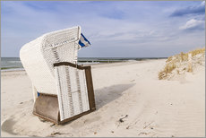 Wall Stickers  beach chair on the Baltic Sea