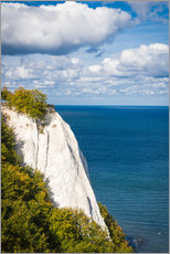 Gallery print  Chalk cliffs in the Jasmund National Park on Rügen