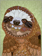 Gallery print  Happy Sloth - Angelika Parker