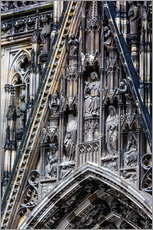 Wall Stickers  Facades detail at Cologne Cathedral
