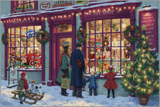 Gallery print  Toy Shop at Christmas - Steve Read