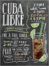 Wall sticker  Cuba Libre Recipe - Lily & Val