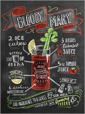 Wall Stickers  Bloody Mary recipe - Lily & Val
