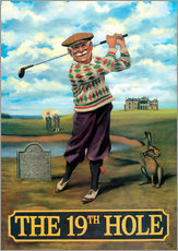 Gallery print  The 19th Hole - Peter Green's Pub Signs Collection