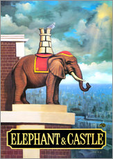 Gallery print  Elephant Castle - Peter Green's Pub Signs Collection