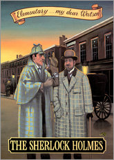Wall sticker  The Sherlock Holmes - Peter Green's Pub Signs Collection