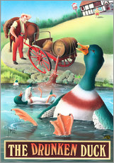 Wall sticker  The Drunken Duck - Peter Green's Pub Signs Collection