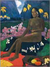Premium poster  Te aa no areois (The Seed of the Areoi) - Paul Gauguin