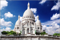Wall sticker Sacre Coeur Cathedral on Montmartre