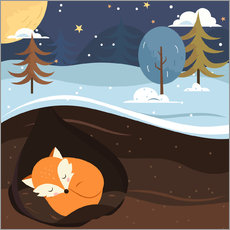 Kidz Collection - Resting Fox