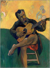 Wall Sticker  The Guitar Player - Paul Gauguin