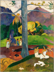Foam board print  Mata Mua - Paul Gauguin