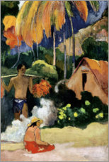 Wall Stickers  Mahana maa II - Paul Gauguin