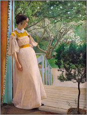 Gallery print  The Artist's Wife - Laurits Andersen Ring