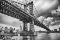 Gallery print  The Manhattan Bridge