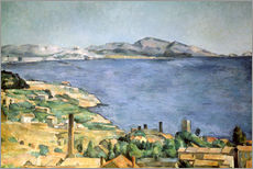 Gallery print  Bay of Marseille - Paul Cézanne