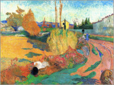 Wall Sticker  Landscape near Arles - Paul Gauguin