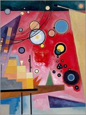 Wall Stickers  Heavy Red - Wassily Kandinsky