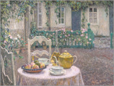 Wall Stickers  The Pink Tablecloth - Henri Le Sidaner