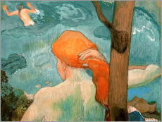 Gallery Print  bather - Paul Gauguin