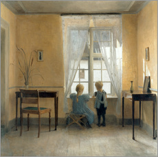 Wall sticker  At the window - Peter Vilhelm Ilsted