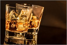 Gallery print  Whisky glasses