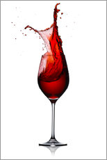 Gallery print  Red Wine Glass