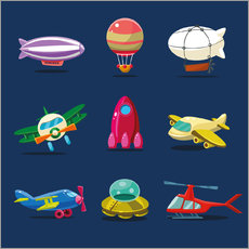 Wall sticker  From the skies - Kidz Collection